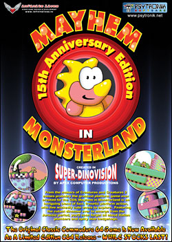 Mayhem in Monsterland (C64)