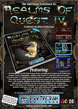 Realms of Quest IV (VIC-20)
